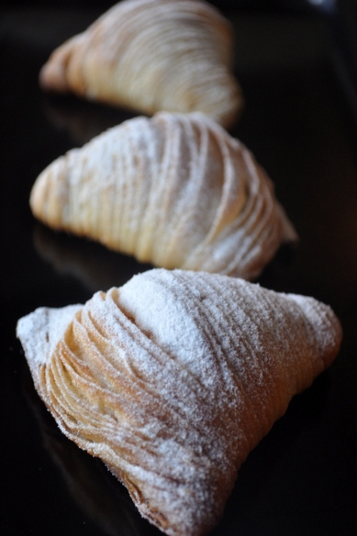 how to make sfogliatelle pastry